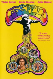 background picture for movie Godspell