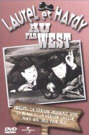background picture for movie Laurel et hardy au far west