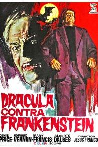 Affiche du film : Dracula prisonnier de Frankenstein