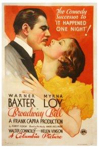 Affiche du film : Broadway bill