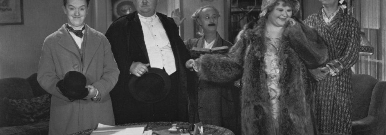 Photo du film : Les trois mariages de laurel et hardy