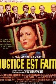 Affiche du film : Justice est faite