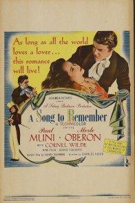 Affiche du film : La chanson du souvenir