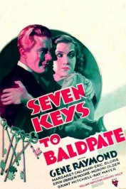 background picture for movie Seven keys to baldpate