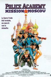 background picture for movie Police academy mission to moscow