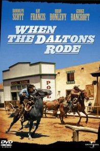 Affiche du film : When the daltons rode