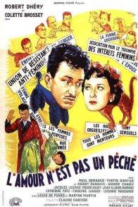Affiche du film : L'amour n'est pas un peche