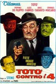 Affiche du film : Toto contro i quattro