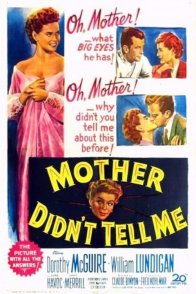 Affiche du film : Mother didn't tell me