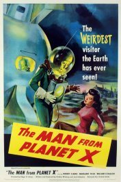 background picture for movie The man from planet X