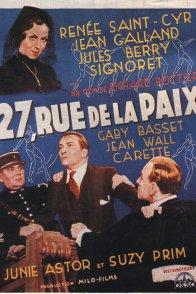 Affiche du film : 27 rue de la paix