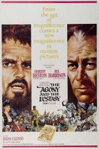 Affiche du film : L'extase et l'agonie