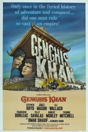 background picture for movie Gengis khan