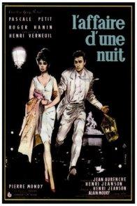 Affiche du film : L'affaire d'une nuit