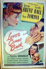 Affiche du film : Lover come back