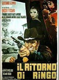 Affiche du film : Le retour de ringo