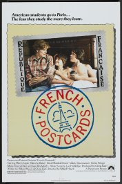 background picture for movie French postcards