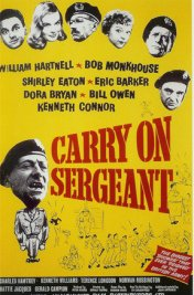 Affiche du film Carry on sergeant