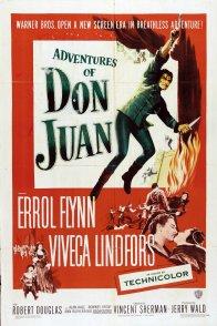 Affiche du film : Les aventures de don juan