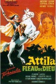 Affiche du film : Attila fleau de dieu