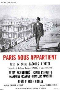 Affiche du film : Paris nous appartient