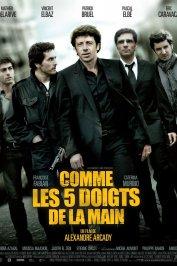 background picture for movie Comme les doigts de la main