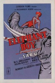 background picture for movie Elephant boy