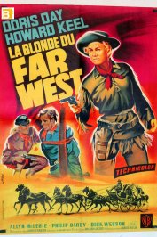 background picture for movie La blonde du far west