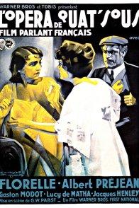 Affiche du film : L'opera de quat'sous