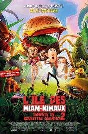 Affiche du film L'île aux Miam-nimaux : Tempêtes de Boulettes Géantes 2