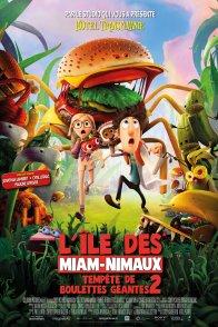 Affiche du film : L'île aux Miam-nimaux : Tempêtes de Boulettes Géantes 2