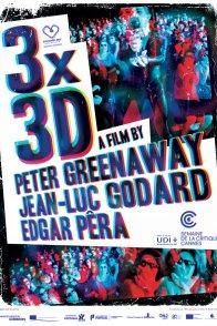 Affiche du film : 3X 3D