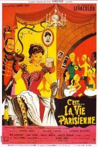Affiche du film : La vie parisienne