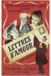 Affiche du film : Lettres d'amour