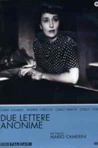 Affiche du film : Deux lettres anonymes