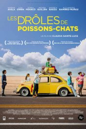background picture for movie Les drôles de poissons-chats
