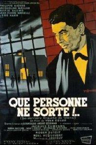 Affiche du film : Que personne ne sorte