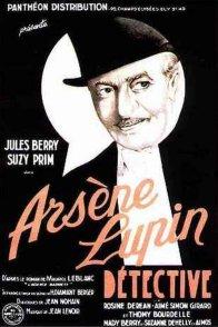 Affiche du film : Arsene lupin detective