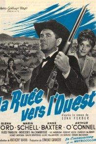 Affiche du film : La ruee vers l'ouest