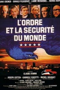 Affiche du film : L'ordre et la securite du monde