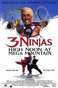 Affiche du film : Les 3 ninjas se dechainent