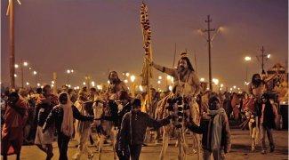 Affiche du film : Kumbh Mela, Sur Les Rives Du Fleuve Sacré