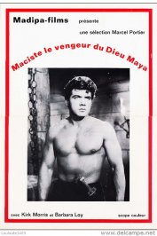 background picture for movie Maciste vengeur du dieu maya