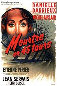 Affiche du film : Meurtre en 45 tours