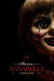 background picture for movie Annabelle
