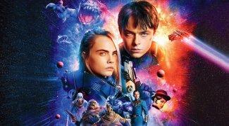 Affiche du film : Valérian et la cité des mille planètes