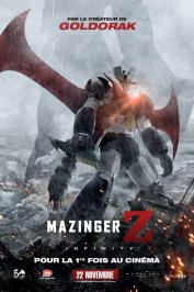 background picture for movie Mazinger Z