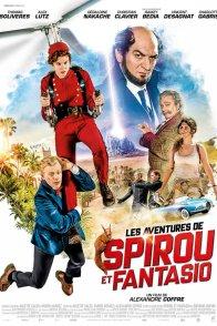 Affiche du film : Les Aventures de Spirou et Fantasio