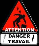 background picture for movie Attention danger travail