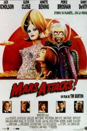 background picture for movie Mars attacks !